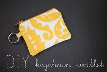 Bags, wallets and other sewing things / by Tiffany O'Shields