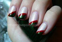Nifty Christmas Nails