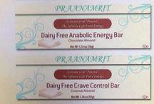 PRAANAMRIT Gluten & Dairy Free Bars / High quality GF DF bars