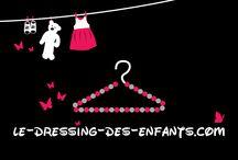L'histoire du site le-dressing-des-enfants.com