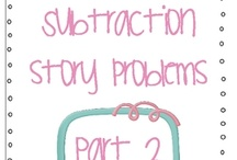 teaching math subtraction / by Kelli Holmes