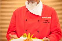 Head Chef Dhan Ali - Aladdin's Restaurant - Stratford-On-Avon / Aladdin's Restaurant Cooking Demonstration at the Stratford-On-Avon Home and Garden Show 2015.