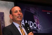 MLS Commissioner Garber visits Orlando / MLS Commissioner Garber visiting Orlando on 1 March 2012 to discuss an Orlando franchise...