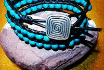 WOOD & LEATHER Bracelets
