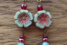 Jewelry: Picasso Flower Beads