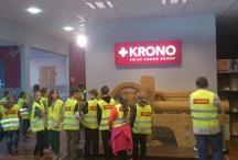 """Wizyty uczniów w Kronopolu / W ramach akcji """"Firma Otwarta"""" mamy przyjemność gościć u nas grupy aktywnych uczniów.  Dziękujemy za mile spędzony czas!"""