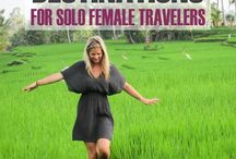 Solo female traveler