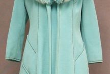 Coats in Teal Mint Turquoise