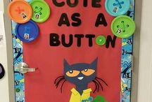 Classroom decoration: summer