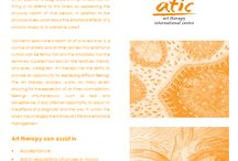 Free Art Therapy Brochures and leaflets. / More free info can be found at www.aticarttherapy.com
