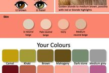 colors type - face shapes - eyes