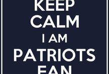 Patriots fan forever! / by Katie Lavan