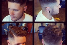 Mens hairstyles / by Hali Pickering