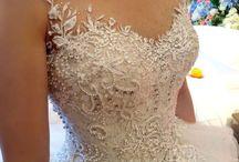vestidos casamento da Meg
