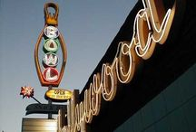 Neon Signs and Over-sized Objects