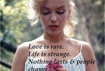 Marilyn Monroe Citater