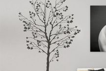 NATURE STICKERS / Amazing Florals, Trees, Birds, etc.. Nature in your walls!!!