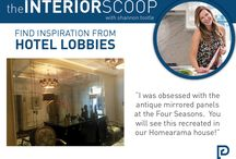 The Interior Scoop / Tips from our designer Shannon Tootle