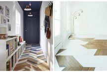 planchers peints