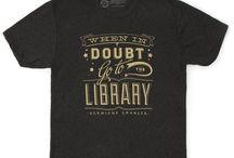 "Harry Potter / ""When in doubt, go to the library."" Harry Potter Alliance T-Shirt / by Out of Print"
