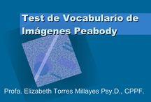 TESTS DE LENGUAJE / Valoración de todos los aspectos del lenguaje.