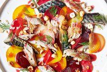 Stunning Salad Centrepieces