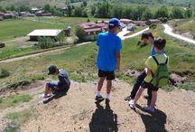 Excursión a LLama de Colle, León Campamentos de inglés GMR / Cerca del campamento se encuentra este pueblo donde los campers pueden descubrir el fabuloso mundo de los fósiles.