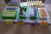HOMEMADE SOAPS, SCRUBS, CANDLES, LOTIONS, ETC