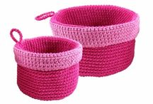 ♡ mandjes haken / crochet baskets