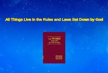 """The Hymn of God's Word """"All Things Live in the Rules and Laws Set Down by God"""""""