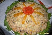Salpicão de frango / Saladas