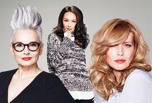 """Essential Looks 2015:2 Age of Beauty / """"A szépség a korral érkezik"""" – ígéri az idei trend, mely megmutatja nekünk, miként hódítja meg az érett hajú vendégeket a Granny Style.   Az idei őszi-téli trend teljes mértékben az idősebb korosztályra és az időtlen szépség megőrzésére fókuszál."""