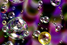 Lovely drops & bubbles