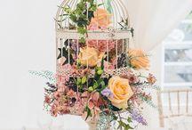 Inspire | Birdcage centrepieces