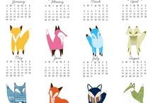 Calendar ideas / by Jeanette Ann