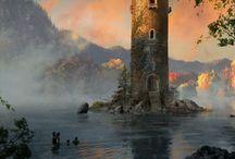 Art - Fantasy, Places / by Teresea Parrish