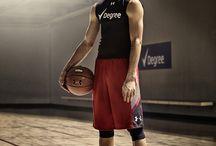 """Basketball / """"No es necesario ser alto, si piensas en ser un grande."""""""