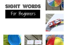 Sight words / by Danielle Bent Jacobs