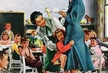 Ilustraciones años 40/50