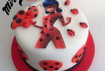 miraculous ladybug cake