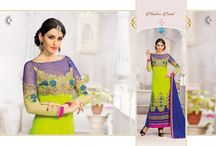 Catalog No.: 2177 (Full Set Only) / Fabric : Georgette