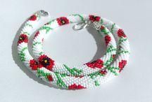 Crochet beads ropes - LuxuryBeadsBijoux