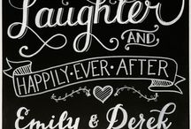 Wedding Signs & Boards / Wedding Signs
