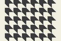 monochrome patterns