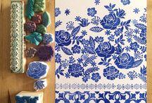 handprint fabric