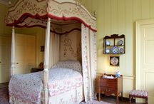 Georgian Bedrooms / Bedrooms from actual English homes as they may have looked during the Georgian period