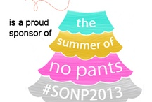 Summer of No Pants / WeAllSew is the proud sponsor of Marigold Haske's Summer of No Pants sewing challenge.  Pin your project using #berninausa or #SONP2013 and enter this fun sewing challenge with a chance to win a bernette 46.  / by BERNINA WeAllSew Blog