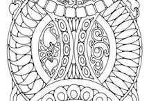 Coloring Pages / Art / by Jennifer