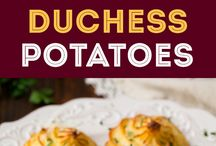 Side of potatoes / Recipes