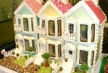 GINGERBREAD HOUSES / by Debbie Bieren